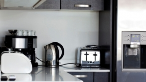 Save Space in the Kitchen by Cleverly Organizing the Small Appliances
