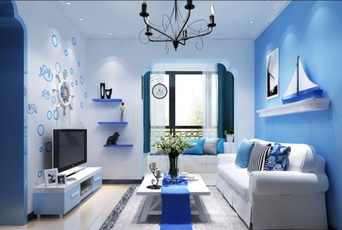 Colorful Living Room Design Ideas Picture