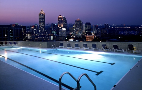 How to Build and Maintain a Rooftop Pool Picture