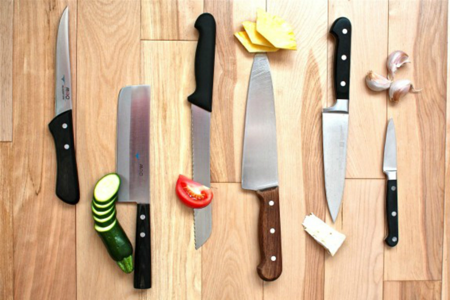 Kitchen Knives Types   Choosing The Right Knife Picture