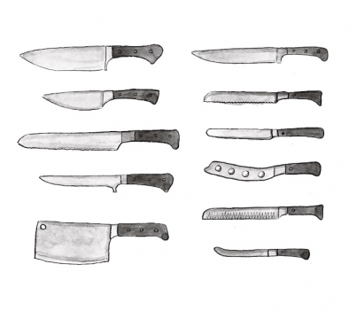 Kitchen Knives Types - Choosing the Right Knife Picture