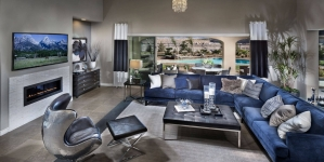 Navy Living Room Decor Ideas