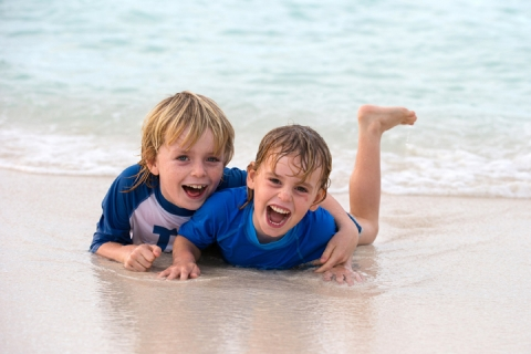 Family-friendly travel guide - activties for kids in Turks and Caicos