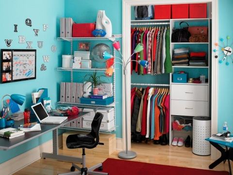 How to Organize a Small Closet Picture