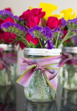 Make your own flower arrangements