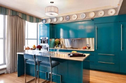 Retro Kitchen Decor Ideas Picture