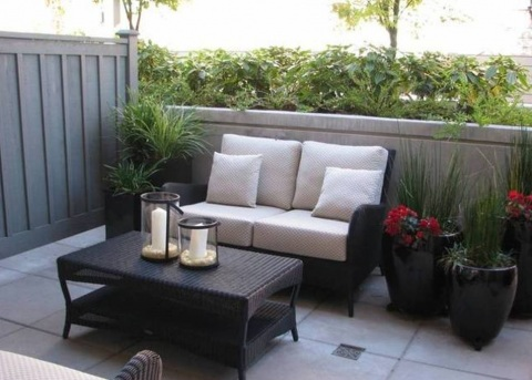 Small Condo Patio Ideas Picture